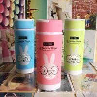 创意广告杯定制批发 双层塑料杯 定做水杯促销礼品杯子可印字LOGO