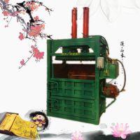 亚博国际真实吗机械 饮料瓶液压打包机 立式半自动废纸箱液压打包机 旧报纸旧废品压块机