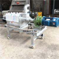 多功能干湿分离机 餐厨垃圾养殖厂沼渣固液分离机