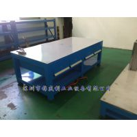 锦盛利MJT-1109 A3钢板模具工作台 45#水磨钢板修模台 江苏模具工作台