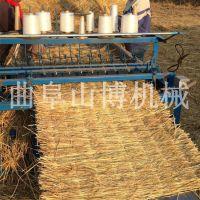 1.2米电动编草帘机器哪里有卖 保温草毡机 山博制造