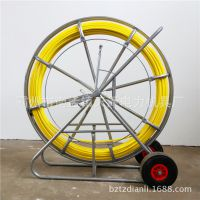 玻璃钢穿线器 穿管器 管道引线器通管器穿线棒钢丝 可定制