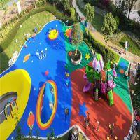 工厂直销 户外彩色橡胶地垫 幼儿园专用弹性地垫 块状地垫