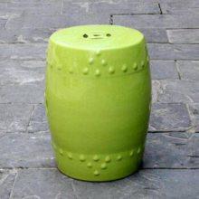 景德镇玉兰花陶瓷鼓凳 陶瓷工艺品摆件