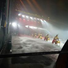 漯河市表演节目舞台氛围渲染造景水雾机、激光水幕出租出售