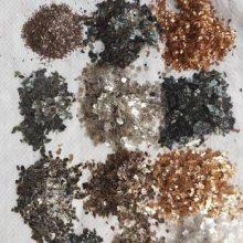 染色云母片价格,河北染色云母片厂家 复合岩片 天然岩片