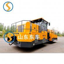 设计公铁两用牵引车用户可根据需要选用不同的配置