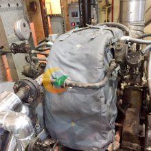 除湿干燥机节能套 蒸汽分气缸保温套 双螺杆造粒机隔热套 气凝胶节能罩 注塑机隔热套
