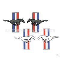 福特野马车标GT金属车贴叶子板标新蒙迪欧野马改装侧标飞马车身贴