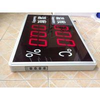 医药厂房大屏温湿度记录仪HTxxJ,上海发泰远距离LED温度湿度显示屏