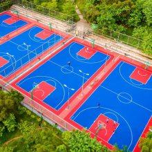 太原户外运动地板 健身房悬浮地板 篮球场跑道防滑地板