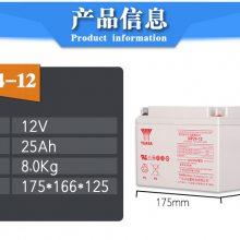 汤浅蓄电池12V24AH 铅酸蓄电池NP24-12