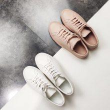 真皮板鞋 头层丝绸牛皮 耐磨橡胶大底 真皮小白鞋 真皮板鞋 经典小白鞋