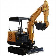 园林果园挖沟推土钩机 多功能农用小型挖掘机 18微型挖掘机规格