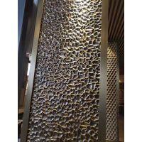 供应上海哪里有不锈钢钻石压花板 201玫瑰金不锈钢KTV门板