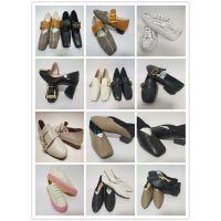 专业定制加工高档真皮欧美外贸时尚时装粗跟浅口女单鞋