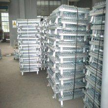 广西仓储笼生产厂家 安徽铁笼子 带脚轮仓库笼
