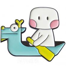 北京徽章制作,游戏公司年会胸章,找定制动漫胸章工厂