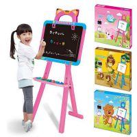 儿童大号94CM写字板 黑白两板带笔磁性画板画画板涂鸦板早教益智