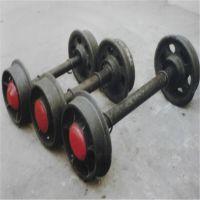 铁路矿山配件空心 实心矿车轮对 希望是人生的乳母现货