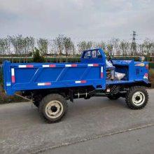湖南永州东安130后桥的工程四不像 加重轮式四驱四轮拖拉机 大载重轮式农用四轮车