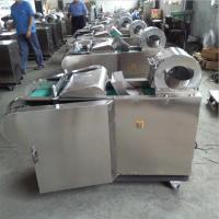 学校食堂精品小型切菜机 无机头土豆地瓜冬瓜切块机全不锈钢型