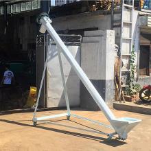宜宾市河沙螺旋提升机 定做5米长螺旋提升机厂家qk