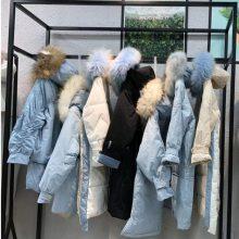 19秋冬女装阿莱贝琳品牌折扣西树影黛羽绒服时尚潮流大牌专柜渠道货源