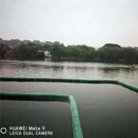 拦截水面漂浮垃圾专用pe塑料浮体厂家提供拦污方案