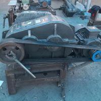 厂家生产废旧轮胎切圈机大型轮胎切割机废旧轮胎粉碎成套设备