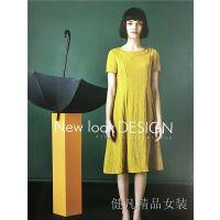 【梦莎奴】2018新款连衣裙夏发售加盟进货厂家一手货源走份批发