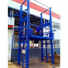 非标定制钢平台专用导轨式升降货梯 二/三层车间液压升降货梯价格