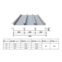 Q235材质闭口式压型钢板YXB48-200-600-上海新之杰楼承板厂家