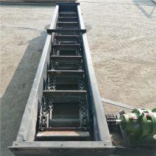 双环链刮板式煤粉输送机 可转弯刮板式粉料提升机Lj3