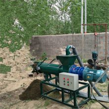 处理猪粪挤干分离机 斜筛式800型粪便分离机 废纸浆脱水机
