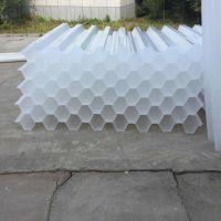供应六角蜂窝斜管 全新PP聚丙烯材质 冷却塔斜管填料 斜管怎么安装