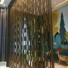 广州欧式装修风格安装铜雕刻屏风隔断
