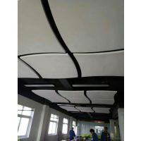 专业生产玻纤吸音板 吸音垂片 体院馆立体吊顶