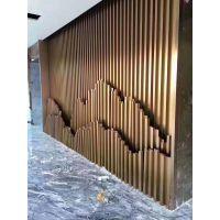 装饰不锈钢酒店花格,不锈钢订制屏风隔断