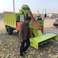 两立方牛粪清理车 省时省工柴油清粪车 自卸式刮粪车