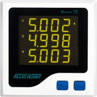 供应爱博精电Acuvim 72紧凑型三相电力仪表,新一代高性价比电力仪表