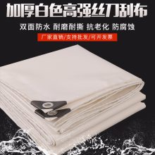 pvc涂塑刀刮布优质高强丝帆布篷布批发订做