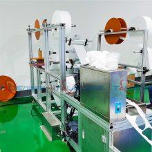 供应KN95口罩机 大量现货1台产能:每分钟产量:30-50片 台捷切片机