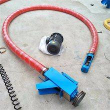 谷仓专用吸粮机 自动装车的抽粮机 电动软管式吸谷机