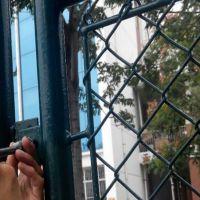 江苏球场专用勾花护栏网-百瑞优质勾花网-围栏网