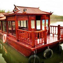 供应大型画舫船 游船 公园景区餐饮船 水上餐厅用船 休闲观光船 农庄客船