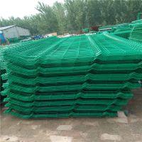 三角折弯护栏网 绿色围墙网 围院子金属网