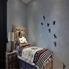 室内墙面天鹅绒涂料施工多少钱一平方 鹅绒涂料厂家报价