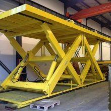 固定式升降平台制造商 英大机械 仓库固定剪叉式升降机订制厂家