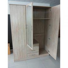 简约现代经济型简易组装板式家用木质板式卧室大衣橱衣柜
